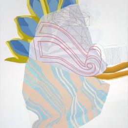 """Cristina del Campo. Serie """"Drapeados"""", 2015"""