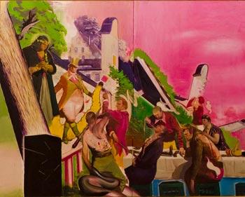 Neo Rauch. Die Vorführung, 2006