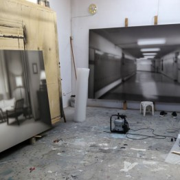 Estudio del artista Hugo Alonso