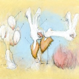 Ana Vernia. Liquid Lanscapes N9, 2016. Serie Loving Landscapes