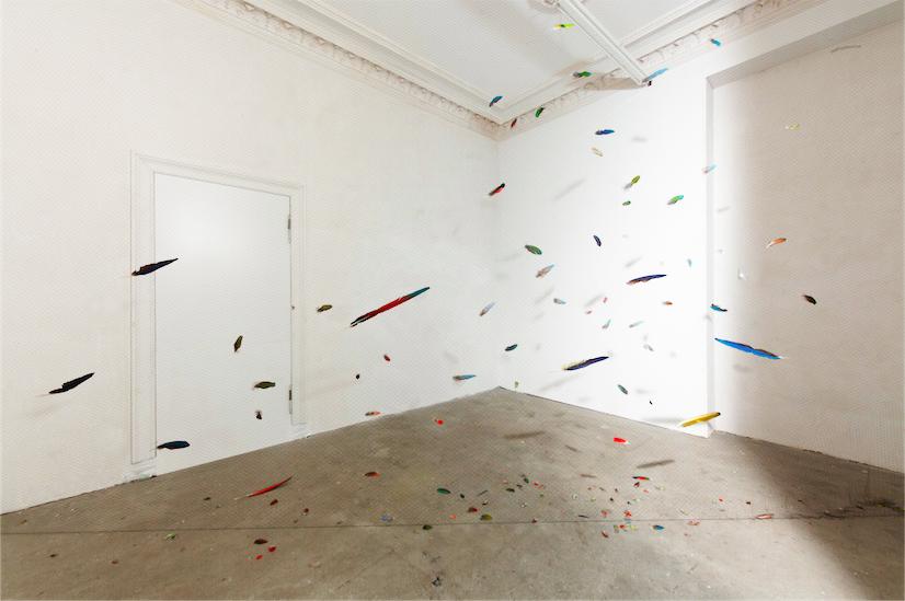 Anna Talens. Red de niebla, 2013. Espace Surplus, Berlín