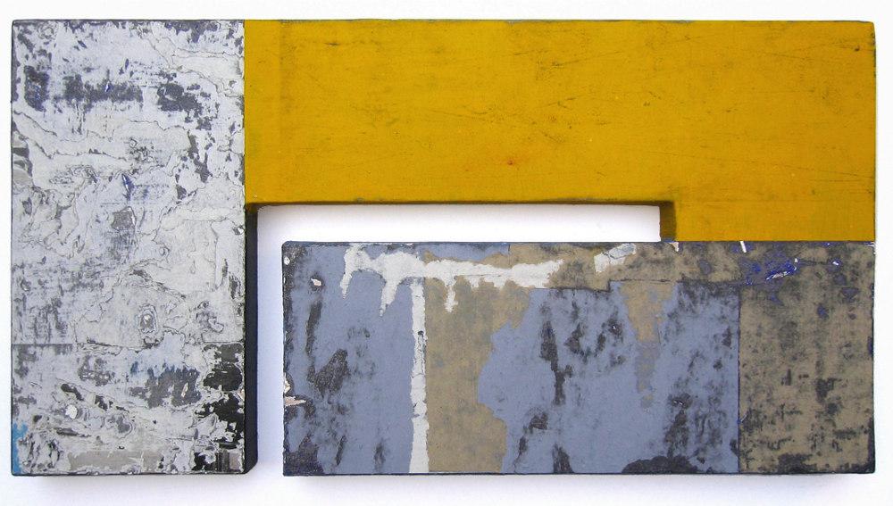 Alberto Cea González. Construcción amarilla. Serie Construcción de los intervalos