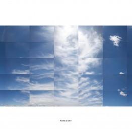 Clara González Ortega. Estudio del cielo Roma 090411-180512, 2011