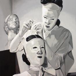 Cristina Toledo. Pull the cords I, 2015. Serie Sacrifice