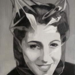 Cristina Toledo. Pull the cords IV, 2015. Serie Sacrifice