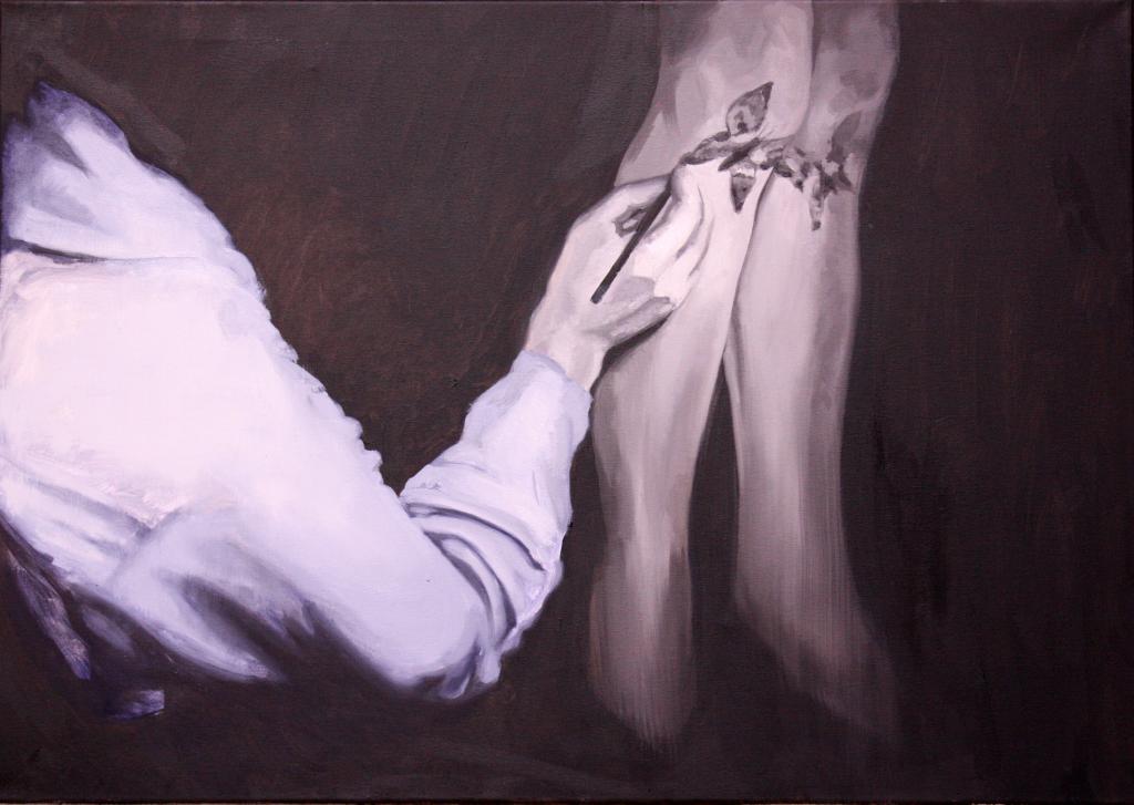 Cristina Toledo. Oscuridad cegadora 1, 2013