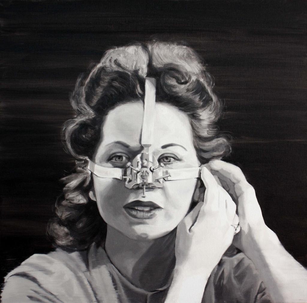 Cristina Toledo. Shape your nose at home! Sacrifice, 2016