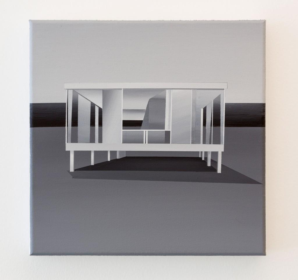 """Fernando Romero. Caja de cristal I, 2016. """"Paseo hasta la linde"""""""