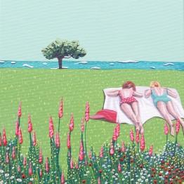 Helena Toraño. Buen otoño nos espera. Flores silvestres, 2015. Jóvenes artistas españolas.