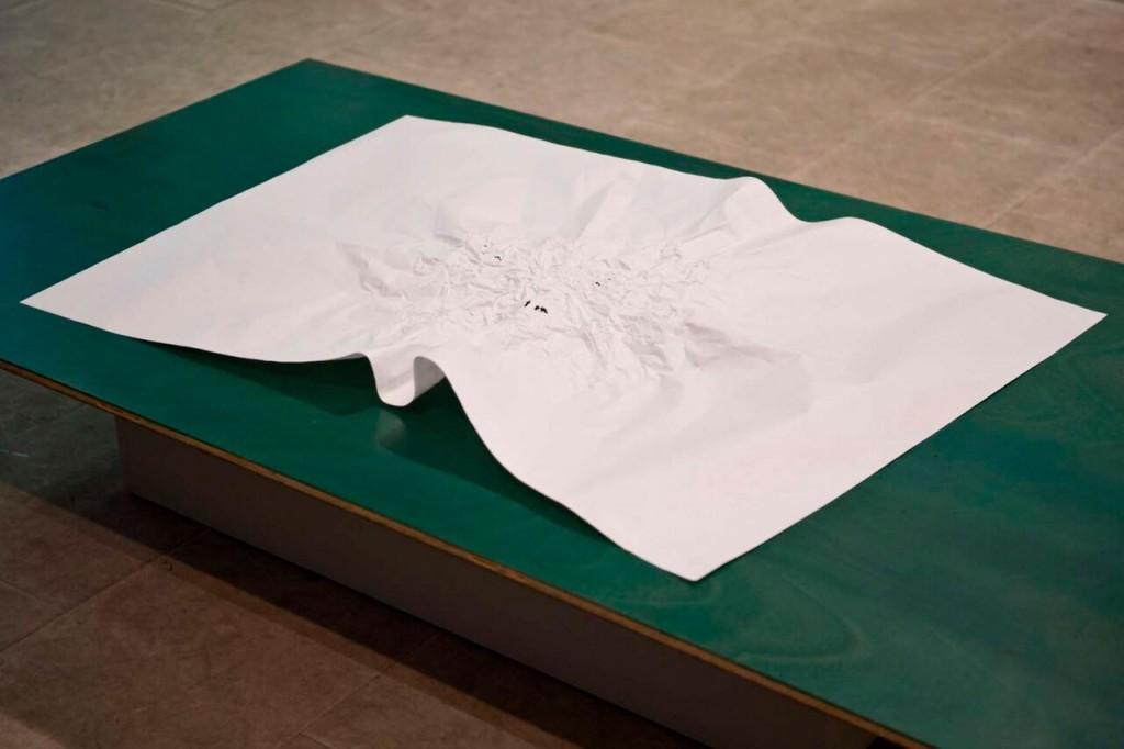 """Isabel Servera. Dibujo masticado II. """"Ejercicios y derivas"""". Centre Artístic de Sant LLuc, 2014"""