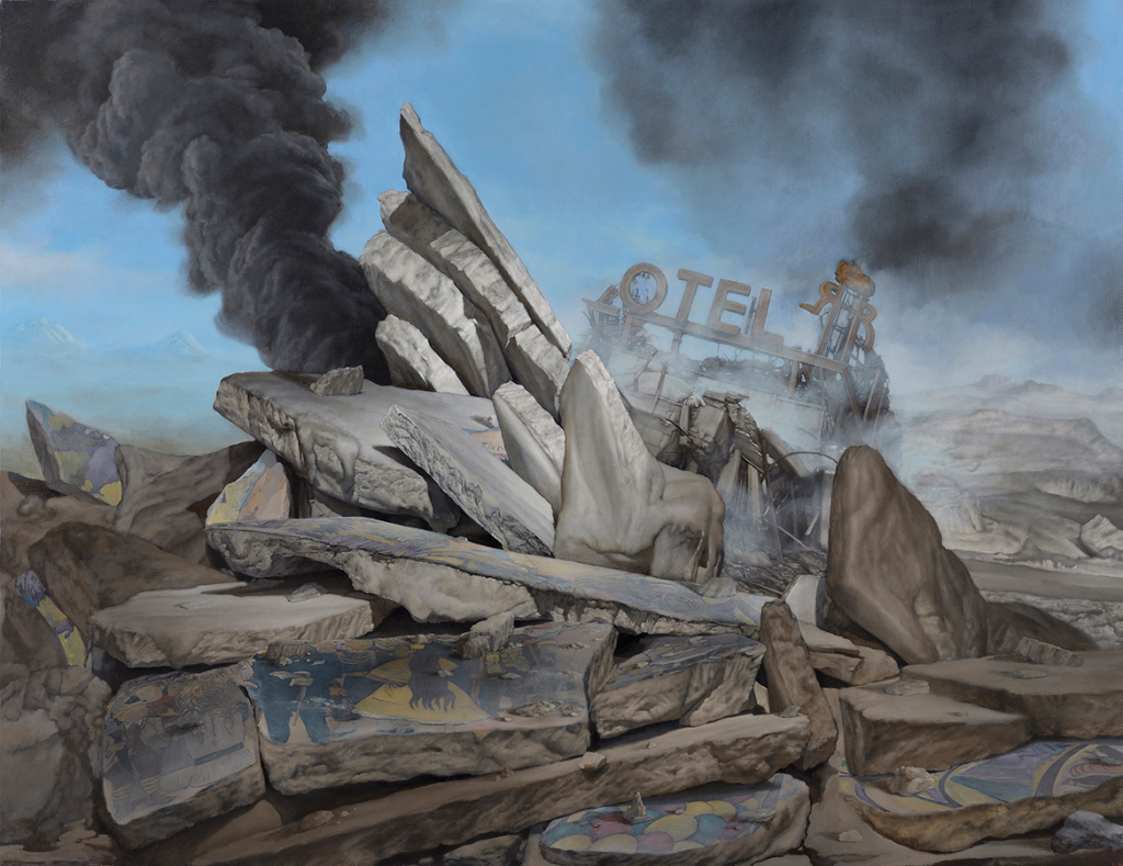 Jesús Herrera Martínez. Landscapes in the New West, 2015