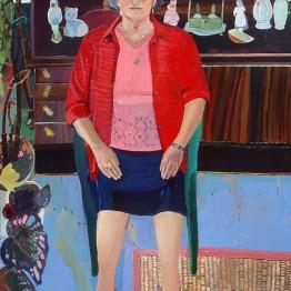 Laura López Balza. El portal de la Mi Guela Dolores, 2014