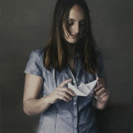 María Carbonell. The paper boat. Serie Fake, 2015