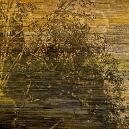 Federico Miró artista. Pinturas que parecen obras de tela bordada.