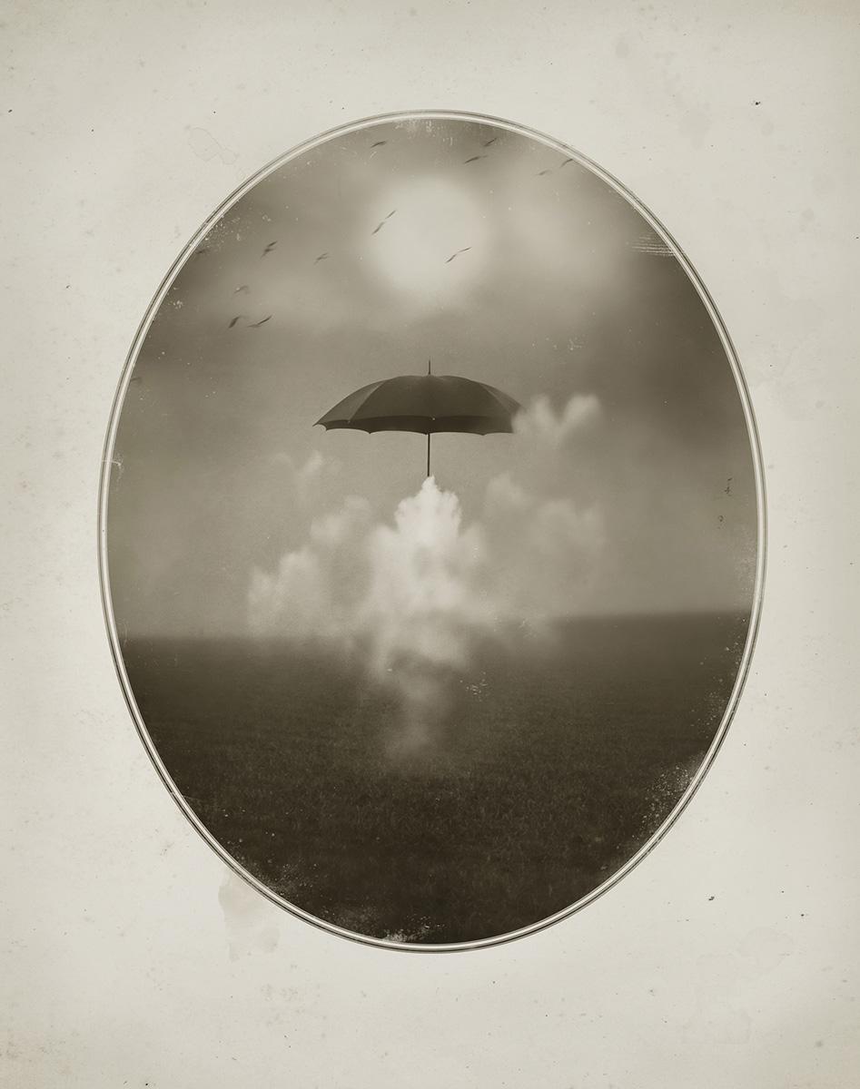 Oriol Jolonch. Anecdotario del s XXI. Paraguas y nube