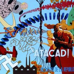 Óscar Seco. La invasión de los soldados republicanos venidos del espacio exterior. Spanish Civil War, 2004