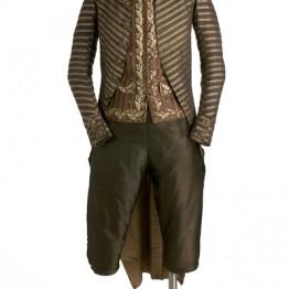 Traje masculino (Casaca, Chaleco y calzón), hacia 1800