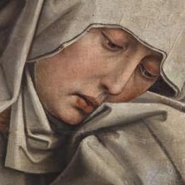 El taller de restauración del Prado devolverá el esplendor al Calvario de Van der Weyden