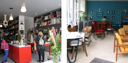 Librería Yvon Lambert. Tienda de muebles y decoración vintage Coin Canal