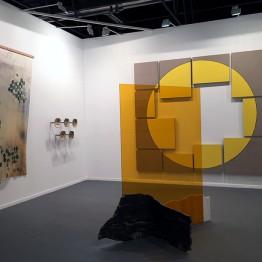 Stand de la galería Travesía Cuatro en ARCOmadrid 2018