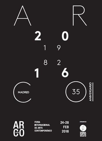 ARCOmadrid cumple 35 ediciones. Del 24 al 28 de febrero de 2016