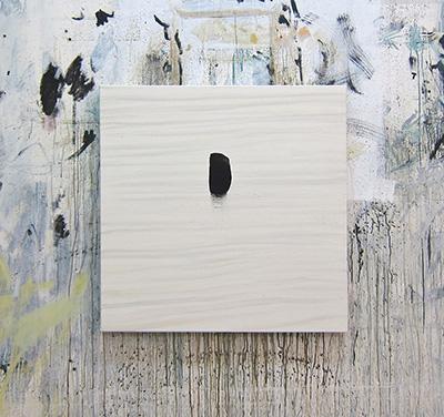 Hugo Fontela, Pier, 2014 Técnica mixta sobre lienzo Galería Hispánica