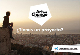 LA CAIXA (ART FOR CHANGE 2017)