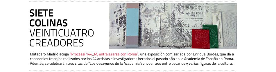 Matadero Madrid acoge los trabajos de los artistas españoles  becados en Roma