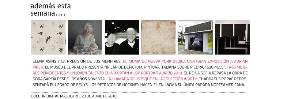 Noticias y exposiciones en masdearte.com
