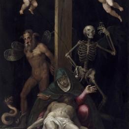 Jacopo Ligozzi. Alegoría de la redención, 1587. Donación Óscar Alzaga al Museo del Prado