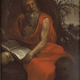 """Francisco Herrera """"el Viejo"""". San Jerónimo penitente, hacia 1640. Donación Óscar Alzaga al Museo del Prado"""