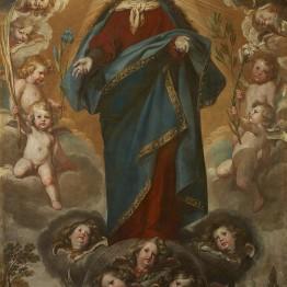 Antonio del Castillo. Inmaculada Concepción, hacia 1645-1650. Donación Óscar Alzaga al Museo del Prado