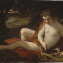 Antonio Rafael Mengs. San Juan Bautista. Donación Óscar Alzaga al Museo del Prado