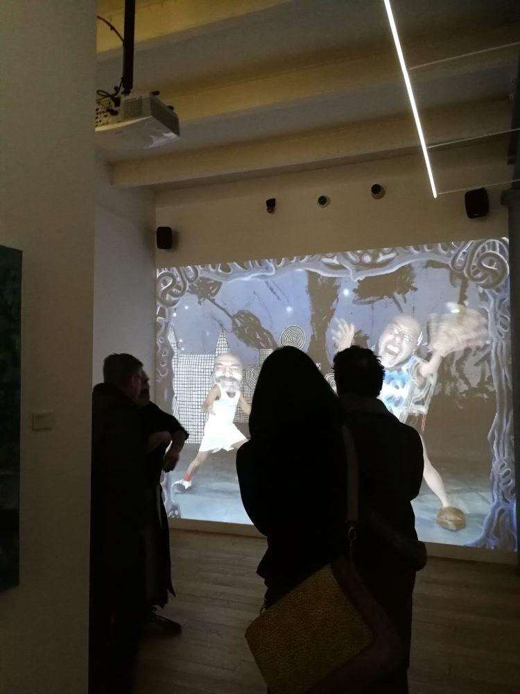 Marcel·lí Antúnez. Eskizos. Museo de Arte Contemporáneo del Ayuntamiento de Madrid