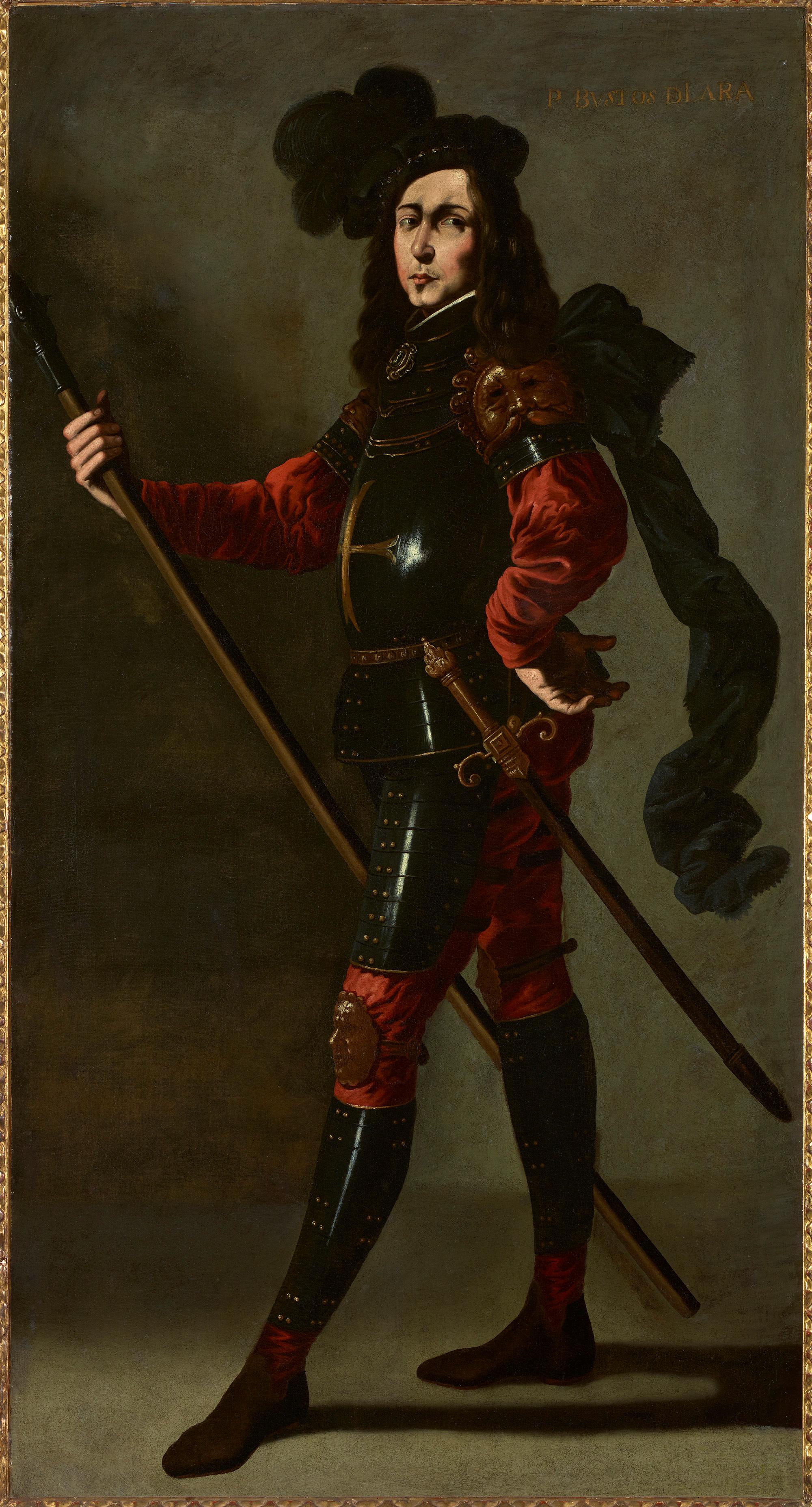 Francisco de Zurbarán. P. Bustos de Lara, 1640-1645