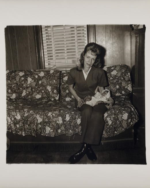 Diane Arbus. A woman with her baby monkey, N.J. 1971, 1971. © The Estate of Diane Arbus