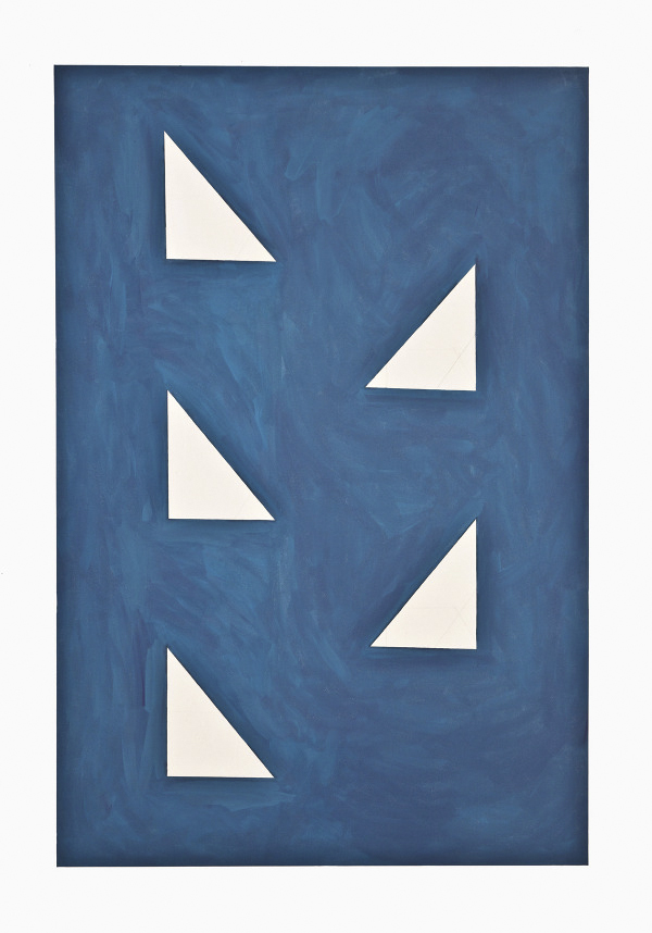 Camila Oliveira Fairclough. Bad Blue (Volpi), 2012