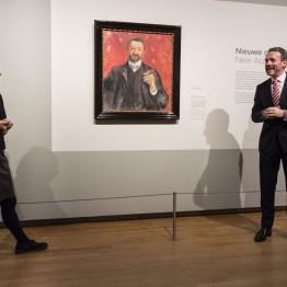 Felix Auerbach por Munch, la última adquisición del Van Gogh Museum