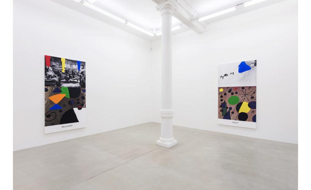 John Baldessari. Miró and Life in general. Marian Goodman Gallery