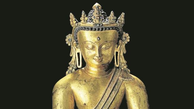 Buda de los siglos XIII-XIV que la baronesa Thyssen ha puesto a la venta en Christie´s