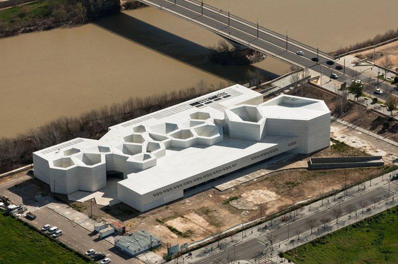 Vista aérea del Centro de Creación Contemporánea de Andalucía