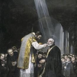 La última comunión de san José de Calasanz de Goya se expondrá en el Museo del Prado