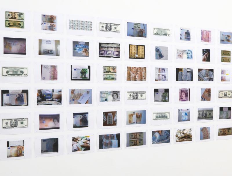 Exposición de Daniel García Andújar en la Galería Casa Sin Fin, en 2015