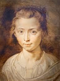 Rubens. Retrato de Clara Serena, hija del artista