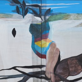 Marc Desgrandchamps se estrena en la Galería Pilar Serra