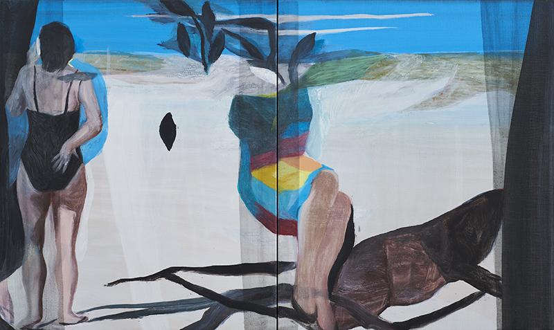 Marc Desgrandchamps, desde hoy en la Galería Pilar Serra