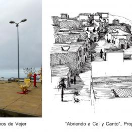 El Concurso Driehaus para rehabilitar Vejer de la Frontera y Grajal de Campos tiene ganadores