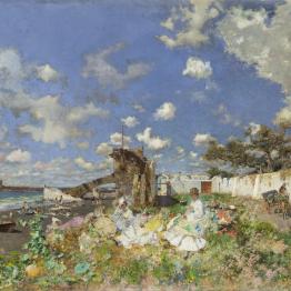 El Meadows Museum adquiere lo último que pintó Fortuny