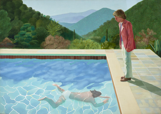 David Hockney, en 2017 en la Tate