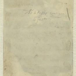 El Prado halla un título manuscrito de Goya en uno de sus dibujos